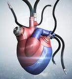 καρδιά μηχανική Στοκ εικόνα με δικαίωμα ελεύθερης χρήσης