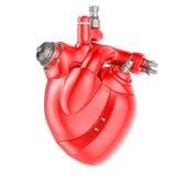 καρδιά μηχανική Στοκ Εικόνες