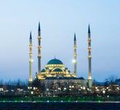 Καρδιά μουσουλμανικών τεμενών Τσετσενίας Στοκ εικόνα με δικαίωμα ελεύθερης χρήσης