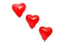 καρδιά μπαλονιών Στοκ εικόνα με δικαίωμα ελεύθερης χρήσης