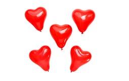 καρδιά μπαλονιών Στοκ φωτογραφία με δικαίωμα ελεύθερης χρήσης