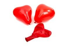 καρδιά μπαλονιών Στοκ φωτογραφίες με δικαίωμα ελεύθερης χρήσης