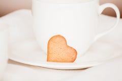 Καρδιά μπισκότων Στοκ εικόνα με δικαίωμα ελεύθερης χρήσης