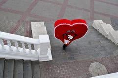 καρδιά μόνη Στοκ εικόνες με δικαίωμα ελεύθερης χρήσης