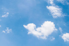 Καρδιά ουρανού πολύ όμορφη στην Ταϊλάνδη Στοκ Εικόνες