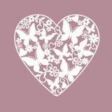 καρδιά λουλουδιών Στοκ Φωτογραφίες