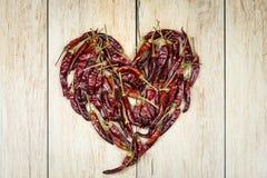 Καρδιά πιπεριών Στοκ Φωτογραφία