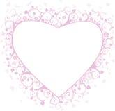 καρδιά πλαισίου Στοκ εικόνα με δικαίωμα ελεύθερης χρήσης