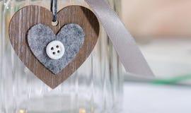 καρδιά που διαμορφώνετα&iot Σύμβολο ημέρας βαλεντίνων Στοκ φωτογραφία με δικαίωμα ελεύθερης χρήσης