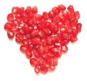 Καρδιά ροδιών Στοκ εικόνα με δικαίωμα ελεύθερης χρήσης