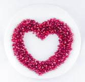 Καρδιά ροδιών στοκ εικόνες με δικαίωμα ελεύθερης χρήσης