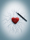 Καρδιά ρωγμών