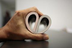 Καρδιά σε διαθεσιμότητα Στοκ Εικόνες