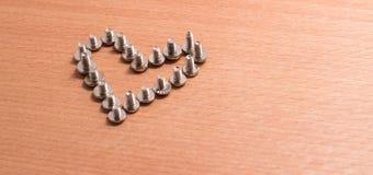 Καρδιά σιδήρου Στοκ φωτογραφία με δικαίωμα ελεύθερης χρήσης