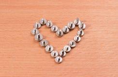 Καρδιά σιδήρου Στοκ φωτογραφίες με δικαίωμα ελεύθερης χρήσης