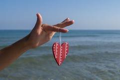Καρδιά στη διάθεση Στοκ εικόνα με δικαίωμα ελεύθερης χρήσης
