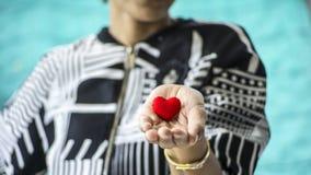 Καρδιά στη διάθεση Στοκ φωτογραφίες με δικαίωμα ελεύθερης χρήσης