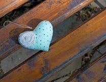 Καρδιά στον πίνακα Στοκ Φωτογραφίες