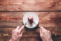 Καρδιά στο πιάτο Στοκ φωτογραφία με δικαίωμα ελεύθερης χρήσης
