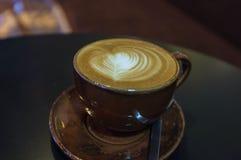 Καρδιά τέχνης Latte Στοκ εικόνες με δικαίωμα ελεύθερης χρήσης