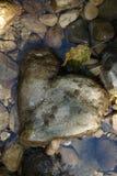 Καρδιά της πέτρας Στοκ εικόνα με δικαίωμα ελεύθερης χρήσης