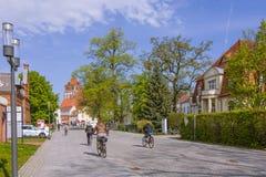 Καρδιά της πόλης του greifswald Στοκ εικόνες με δικαίωμα ελεύθερης χρήσης