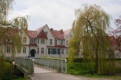 Καρδιά της πόλης του greifswald Στοκ φωτογραφία με δικαίωμα ελεύθερης χρήσης