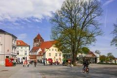 Καρδιά της πόλης του greifswald Στοκ φωτογραφίες με δικαίωμα ελεύθερης χρήσης