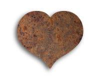 Καρδιά της σκουριάς Στοκ εικόνες με δικαίωμα ελεύθερης χρήσης
