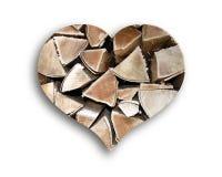 Καρδιά του δάσους Στοκ φωτογραφία με δικαίωμα ελεύθερης χρήσης