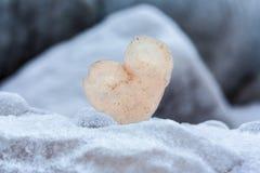 Καρδιά του πάγου Στοκ εικόνα με δικαίωμα ελεύθερης χρήσης