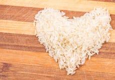 Καρδιά του ρυζιού Στοκ εικόνες με δικαίωμα ελεύθερης χρήσης