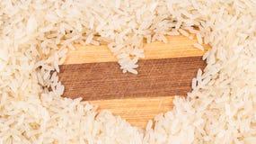 Καρδιά του ρυζιού Στοκ Εικόνα