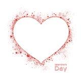 καρδιά το χαρτοφυλάκιό μου στην υποδοχή βαλεντίνων ελεύθερη απεικόνιση δικαιώματος