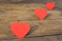 καρδιά τρία Στοκ Εικόνες