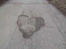 Καρδιά των ρωσικών δρόμων Στοκ φωτογραφία με δικαίωμα ελεύθερης χρήσης
