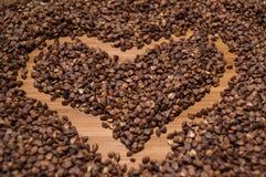Καρδιά φαγόπυρου Στοκ φωτογραφία με δικαίωμα ελεύθερης χρήσης