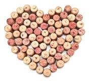 Καρδιά φελλού Στοκ εικόνες με δικαίωμα ελεύθερης χρήσης