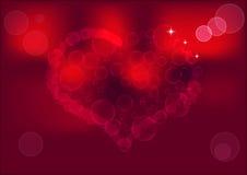 Καρδιά φυσαλίδων Στοκ Εικόνες