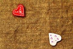 Καρδιά δύο τυρκουάζ ημερησίως βαλεντίνων ` s του ST υποβάθρου Στοκ Φωτογραφία