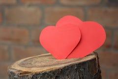 καρδιά δύο Στοκ Φωτογραφία