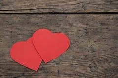 καρδιά δύο Στοκ φωτογραφία με δικαίωμα ελεύθερης χρήσης
