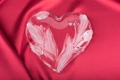 Καρδιά Сrystal Στοκ φωτογραφία με δικαίωμα ελεύθερης χρήσης