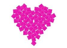 καρδιά δώρων κιβωτίων Στοκ φωτογραφία με δικαίωμα ελεύθερης χρήσης