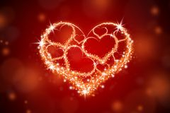 Καρδιά 7 Στοκ Εικόνα