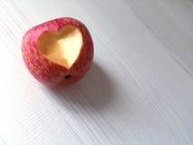 Καρδιά Apple Στοκ Εικόνες