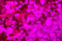 Καρδιά bokeh Στοκ εικόνες με δικαίωμα ελεύθερης χρήσης