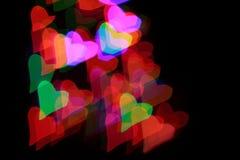 καρδιά s ανασκόπησης Στοκ φωτογραφίες με δικαίωμα ελεύθερης χρήσης