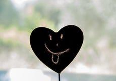 Καρδιά Smiley Στοκ εικόνες με δικαίωμα ελεύθερης χρήσης