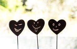 Καρδιά Smiley Στοκ εικόνα με δικαίωμα ελεύθερης χρήσης